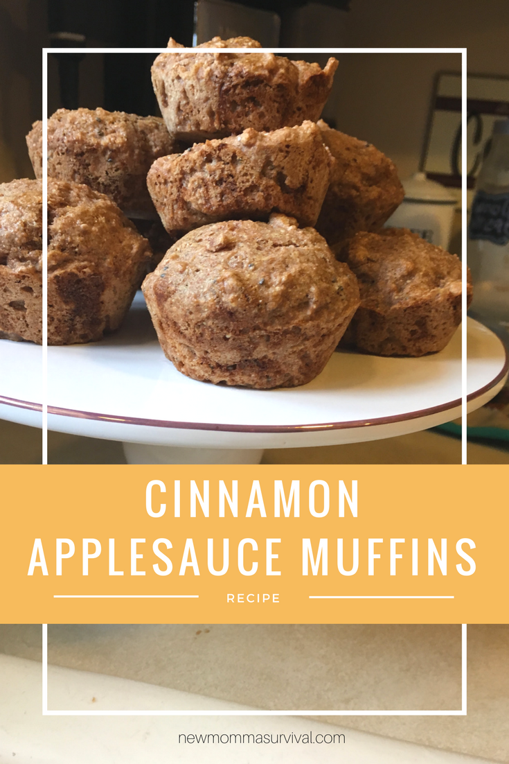 Cinnamon Applesauce Muffins | New Momma Survival