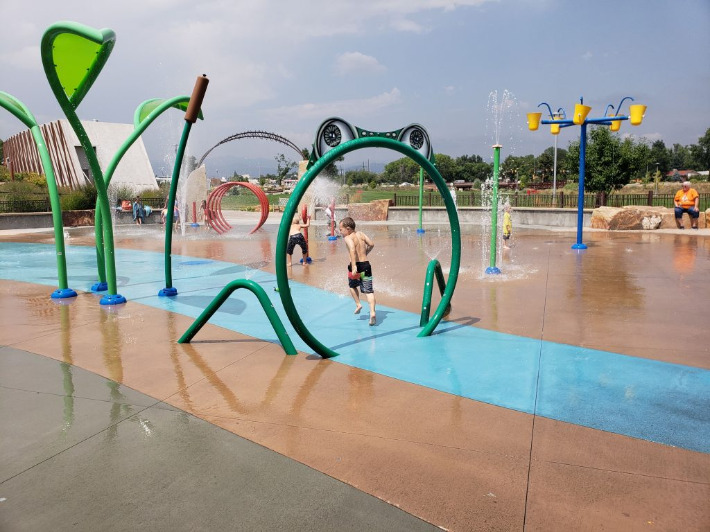 splash pads around denver