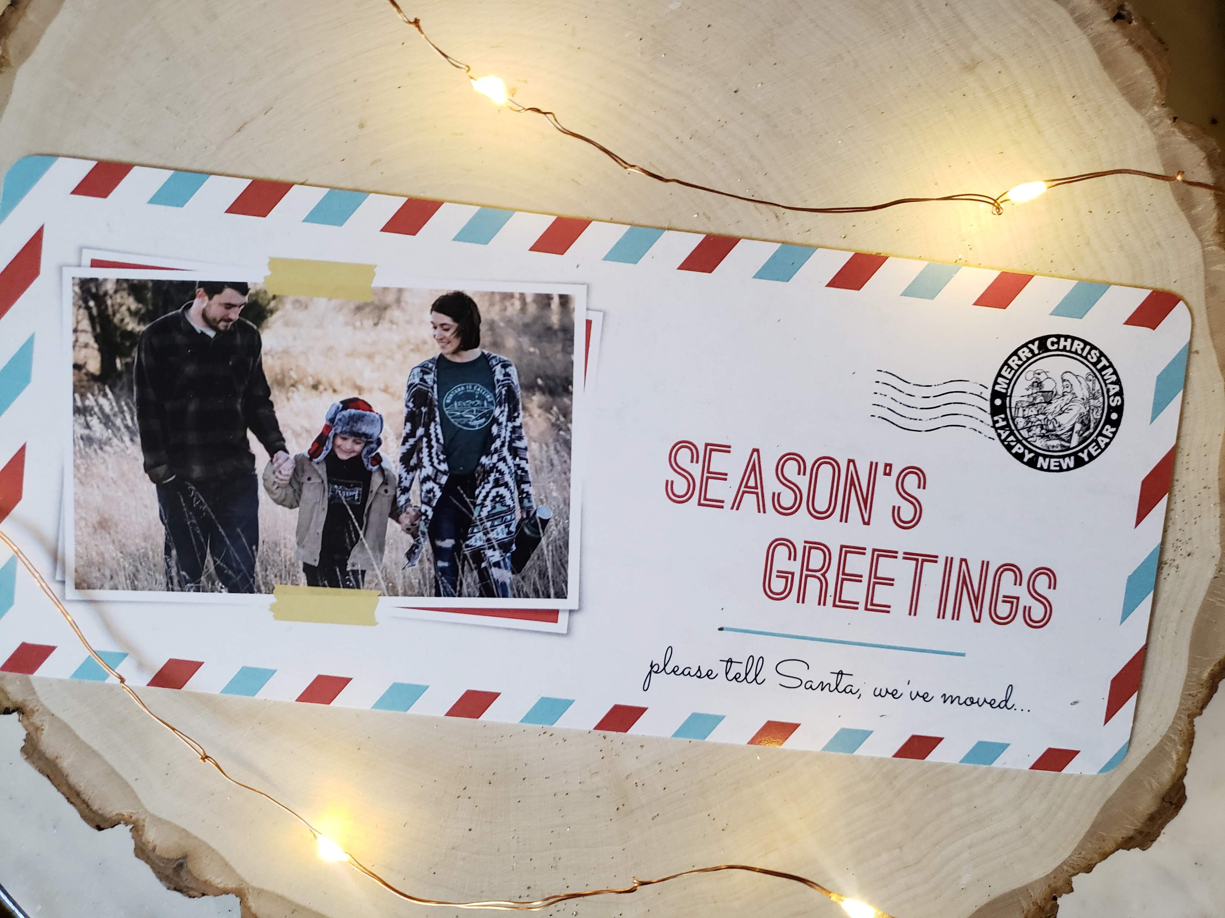 Christmas Cards + MOVING ANNOUNCEMENT