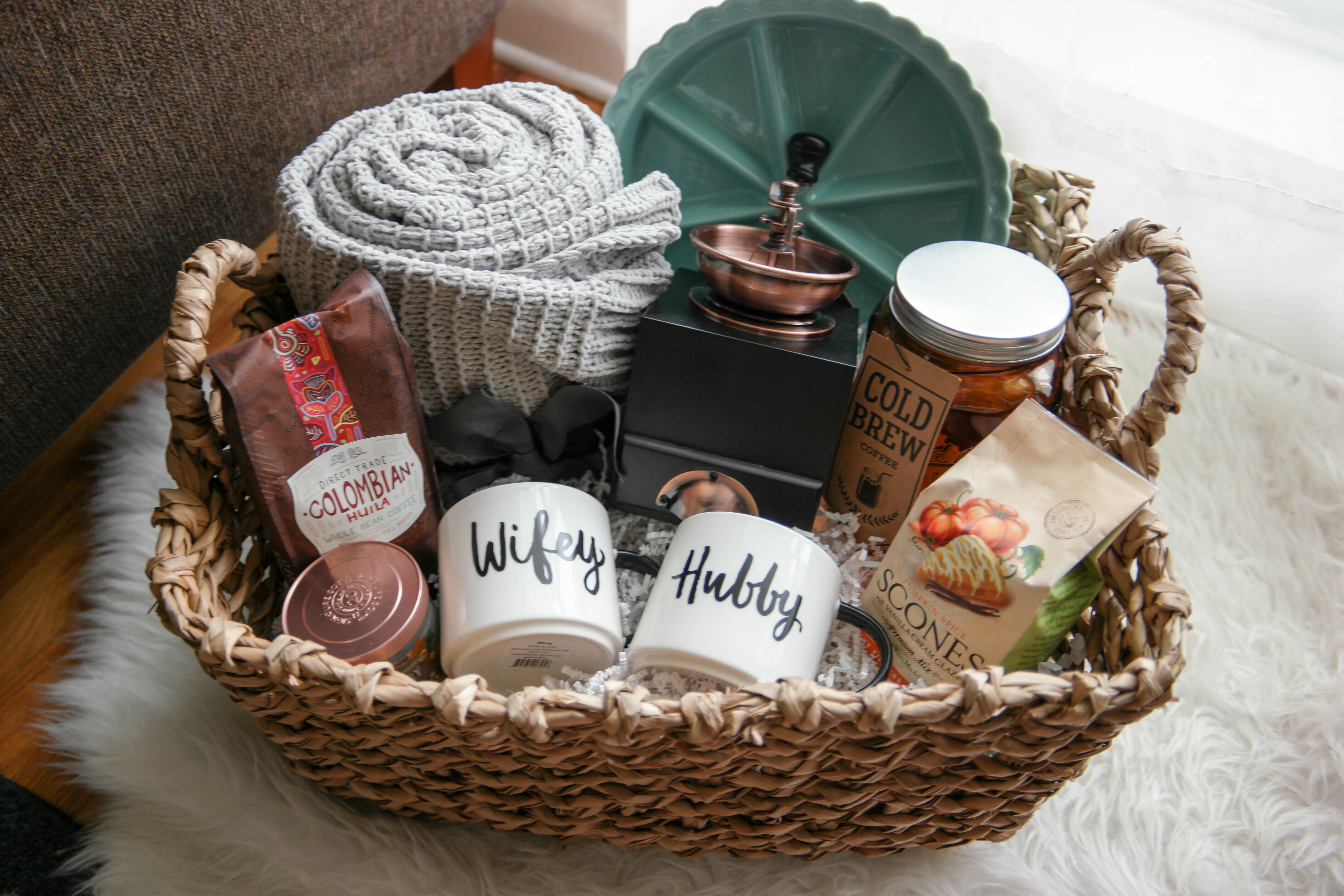 A cozy morning gift basket a perfect gift for newlyweds new a cozy morning gift basket a perfect gift for newlyweds negle Images